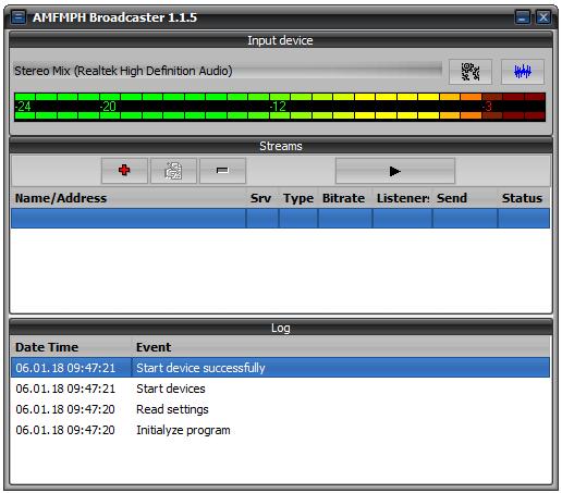 Shoutcast Server Hosting - AMFMPH Streams Online